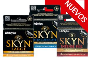 Skyn - Nuevas Versiones